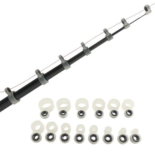 Passador Silicone Para Vara Telescópica GLUB 438 Kit com 14 Unidades  - Casafaz