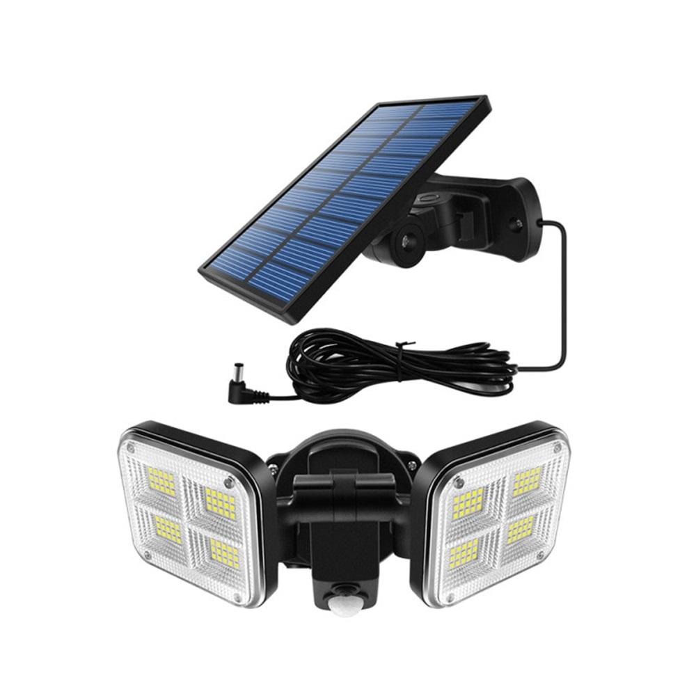 Refletor Solar Sensor Ligth 120 Leds