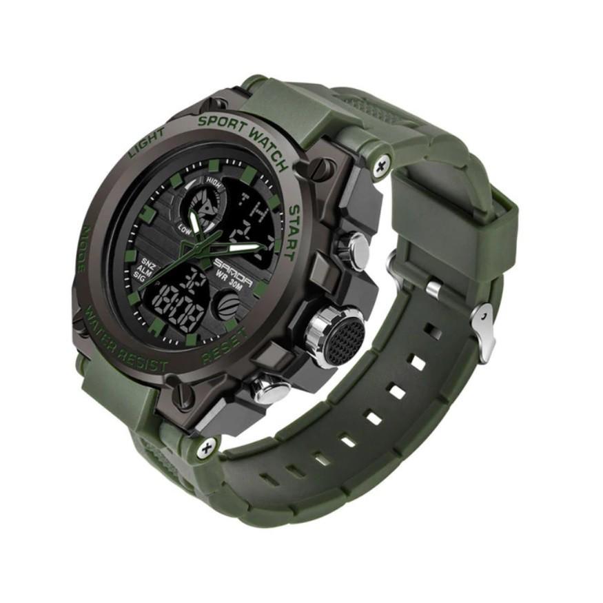 Relógio Esportivo Militar Sanda 739
