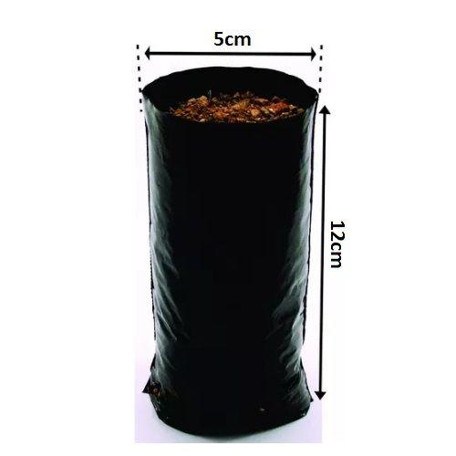 Saco Saquinho Plástico Para Mudas 08 X 15 1000 Unidades  - Casafaz