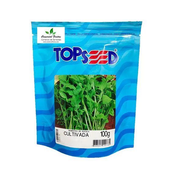 Semente Rúcula Cultivada Topseed 100g