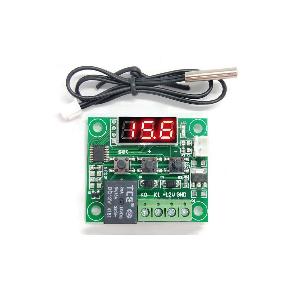 Termostato Digital W1209 Controle De Temperatura Chocadeira Cervejeira -50 a 110º