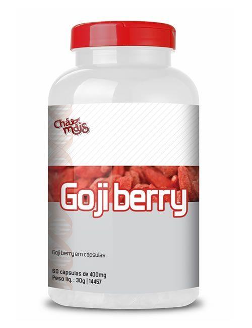 Goji Berry - 60 C�psulas - Ch� Mais
