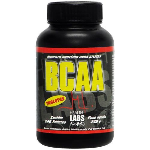 BCAA - 240 C�psulas - Health Labs