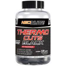 Thermo Cuts Black - 120 Tabletes - NeoNutri
