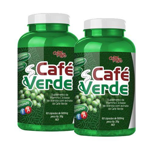 Caf� Verde - Promo��o 2 Unidades - Ch� Mais