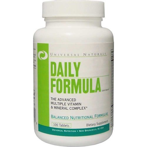 Daily Formula - Universal - 100 Tabletes