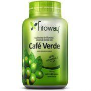Café Verde 400mg (Green Coffee Slim) - 60 Cápsulas - Fitoway