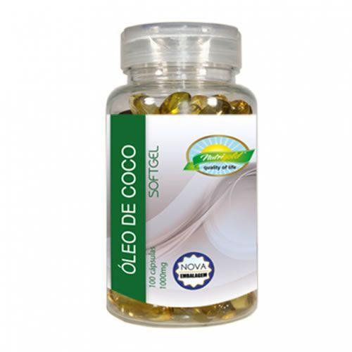 �leo de Coco - 100 C�psulas - Nutri Gold