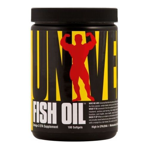 Fish Oil - 100 C�psulas - Universal