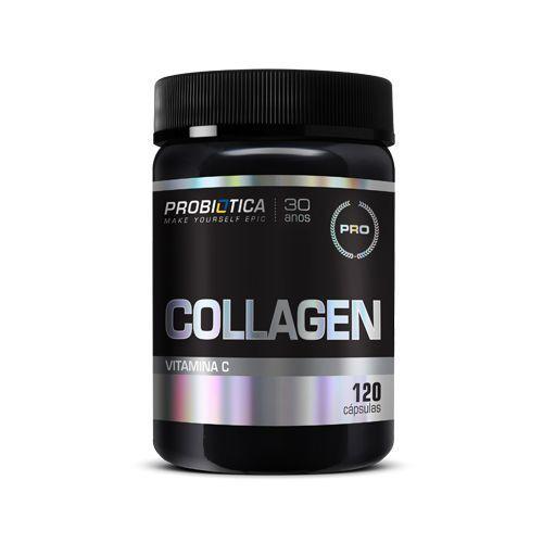 Collagen + Vitamina C - 120 Cápsulas - Probiótica