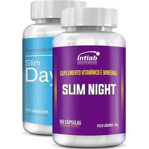 Combo Slim Day e Slim Night - Intlab (Nova Fórmula)
