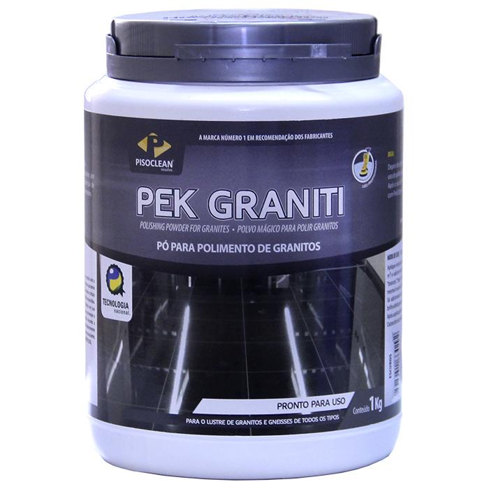 Pek Graniti Escuro 1kg - Pó para Polimento de Granitos Escuros   - COLAR