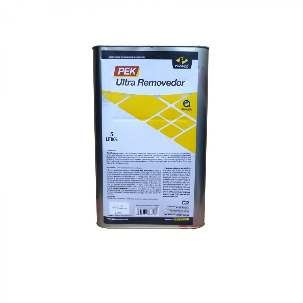 Pek Ultra Removedor De Resinas 5L  - COLAR