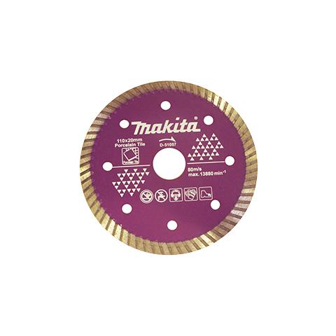 Disco Para Serra Mármore Corte Porcelanato e Cerâmica D-51057 Turbo - Makita  - COLAR