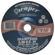 Disco De Desbaste  Icaper Graniteiro 180mm