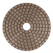 Disco de Desbaste Flexível Colar de Cobre 100mm Para Mármores, Granitos e Pedras Ornamentais