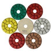 Disco de Polimento Rígido para Granitos Granitti 75mm - Colar