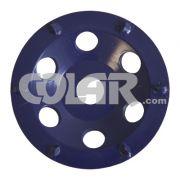 Rebolo Diamantado - SR Azul Para Remoção de Epóxi