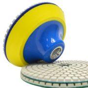 Suporte de Lixa com Velcro e Espuma 100mm - Colar
