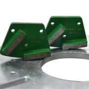 HTC Inserto Diamantado Encaixe Parafuso Hard Bond (Liga Dura) - Colar