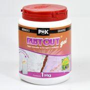 Pek Rust Out Gel 1kg - Super Removedor de Ferrugens e Oxidações