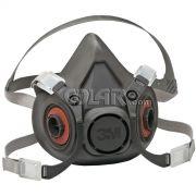 Respirador Semifacial 6200 sem Filtro - 3M