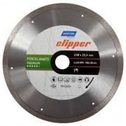 Serra Clipper Continua Para Maquina TR231 Porcelanato Premium 230 x 25,4mm - Norton