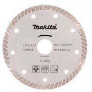 Disco Para Esmerilhadeira Corte Mármore, Granito e Concreto A-84062 - Makita Speed
