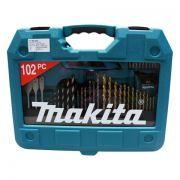 Kit de Ferramentas 102 Peças P-90342 com Maleta - Makita