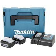 Kit Recarga 2 Baterias + Carregador 127V 196774-0 - Makita