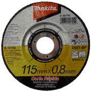 Disco Abrasivo Corte Central 115 mm B5075625 - Makita