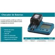 Checador de Bateria Portátil BTC04 198038 8 - Makita
