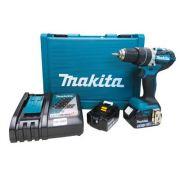 Parafusadeira / Furadeira de Impacto à Bateria 18V  Bivolt DHP484RFE - Makita