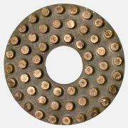 Disco de Polimento Diamantado com Pontas em Liga de Metal para Mármore, Granito e Pedras Naturais - Colar