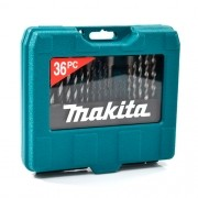 KIT DE BROCAS E BITS P90320 36PÇS - MAKITA