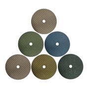 Disco de Polimento Dry Flex 175mm