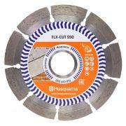 Disco Para Serra Mármore Segmentado Corte Concreto e Alvenaria - Husqvarna FLX-CUT S50