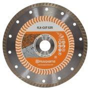 Disco Para Serra Mármore Turbo Corte Concreto e Alvenaria - Husqvarna FLX-CUT S35