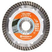 Disco Para Serra Mármore Turbo Corte Porcelanato e Azulejo 110mm - Husqvarna - TACTI-CUT ST LL