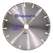 Disco Diamantado Segmentado Corte Ferro, Ferro Dúctil e Metal - Husqvarna FR-3 BLADE