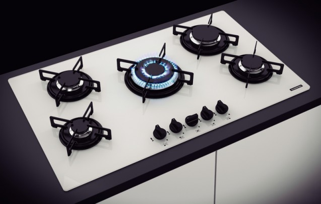 Cooktop Glass Penta Plus 5GG Tri 90 - Tramontina  - COLAR