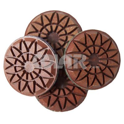 Disco de Desbaste Rígido Para Concreto, Granilite e Terrazzo Flower Metal 75mm - Colar  - COLAR