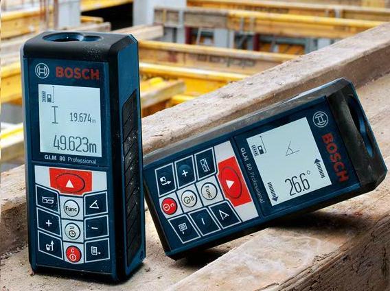 Medidor De Distância a Laser GLM 80 - Bosch  - COLAR