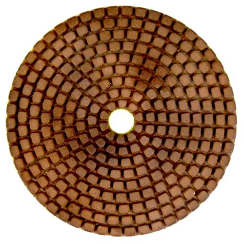Disco de Desbaste Flexível Para Mármores, Granitos e Pedras Ornamentais Metal-Flex 100mm - Colar  - COLAR