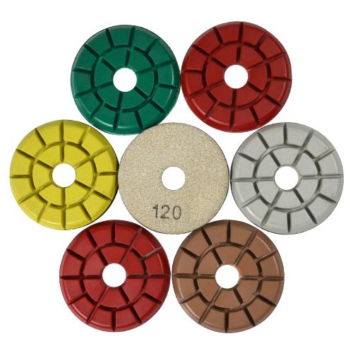 Disco de Polimento Rígido para Granitos Granitti 75mm - Colar  - COLAR