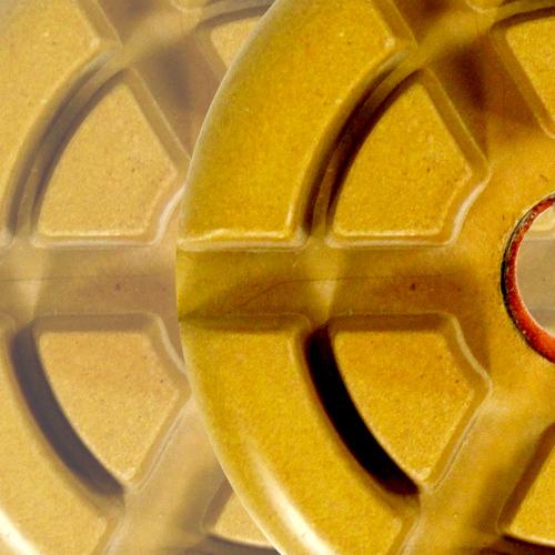 Disco de Polimento Rígido Para Concreto Mustang 75mm - Colar  - COLAR