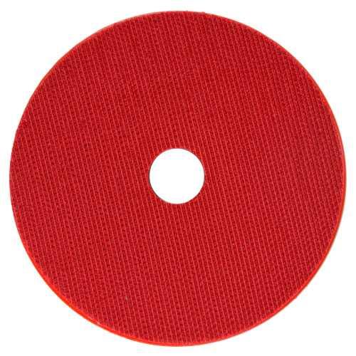 """Suporte Lixa 4"""" Caracol Com Velcro Vermelho - DM  - COLAR"""