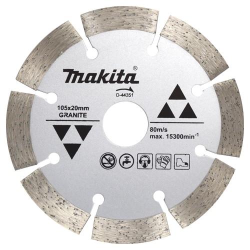 Disco Para Serra Mármore Corte Granito D-44351 - Makita  - COLAR