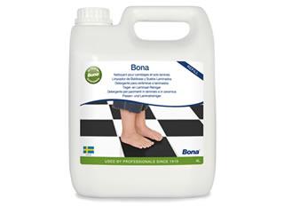 Limpador Para Pisos Laminados Superficies Duras 4L - Bona  - COLAR